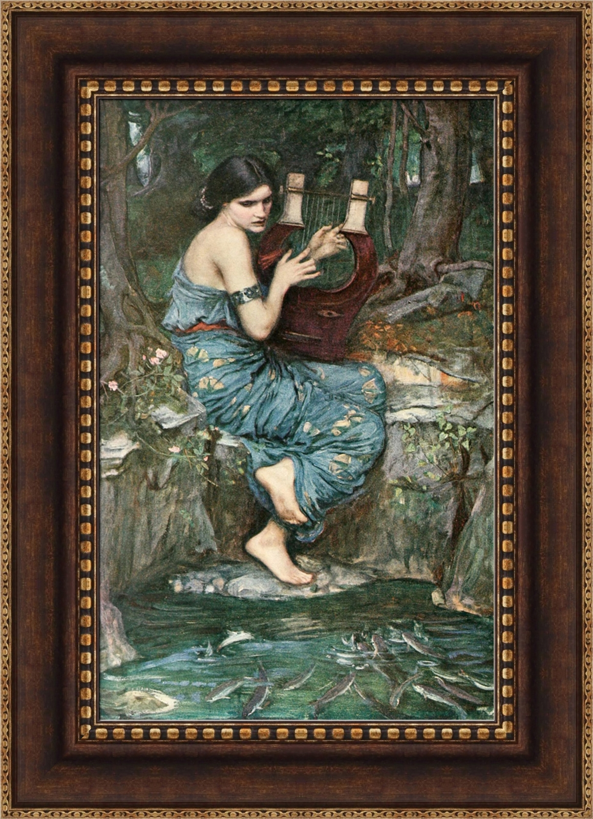 The Charmer Pages Lisa Kudrow For More: John William Waterhouse The Charmer Framed Canvas Giclee