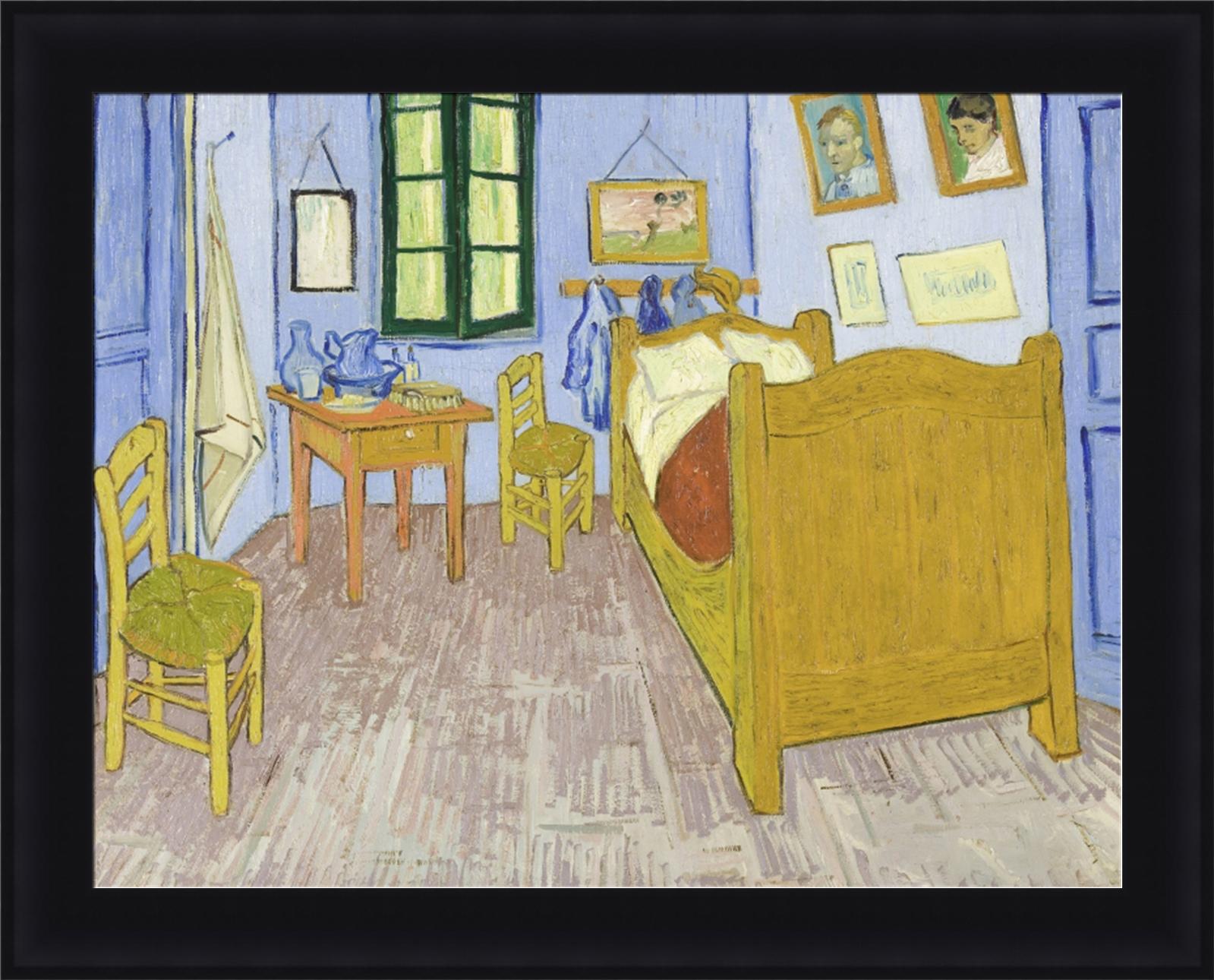 vincent van gogh bedroom in arles framed canvas giclee print 33 5 034