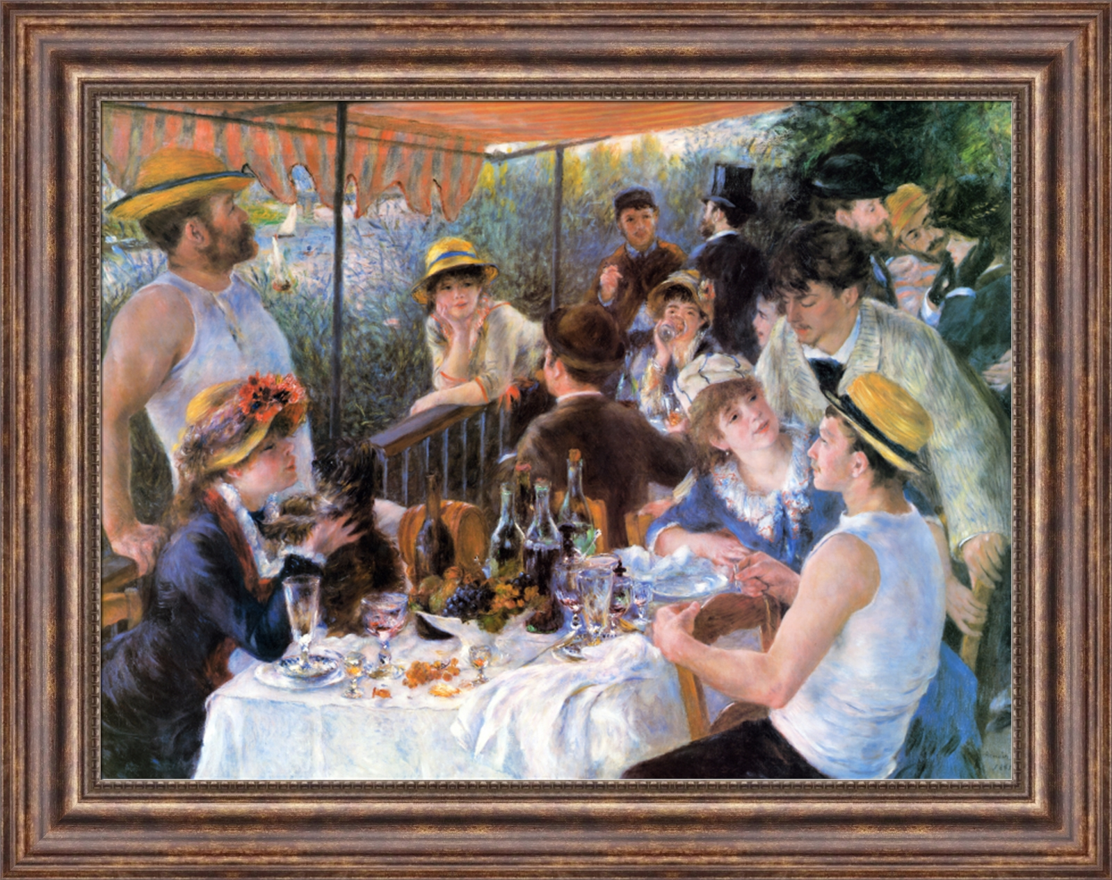 Luncheon Of The Boating Party Pierre Auguste ...