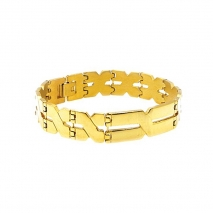 Exo Jewel Men's Stainless Steel Bracelet 01