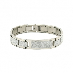 Exo Jewel Men's Stainless Steel Bracelet 04