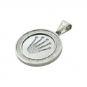 """Exo Jewel Men's Fashion Pendant Necklace with 24"""" Round Box Chain 04"""