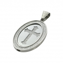 """Exo Jewel Men's Fashion Pendant Necklace with 24"""" Round Box Chain 05"""