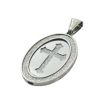 "Exo Jewel Men's Fashion Pendant Necklace with 24"" Round Box Chain 05"