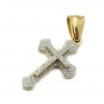 "Stainless Steel Cross Pendant Necklace with 30"" Stainless Steel Chain 05"